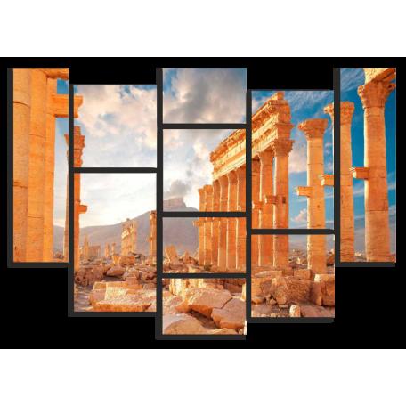 Город Пальмира. Архитектура Сирия
