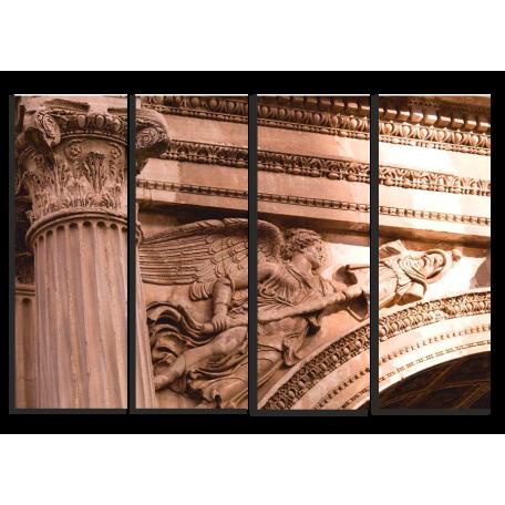 Итальянская арка, фрагмент