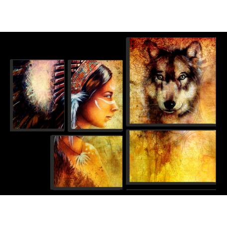 Волк и дева