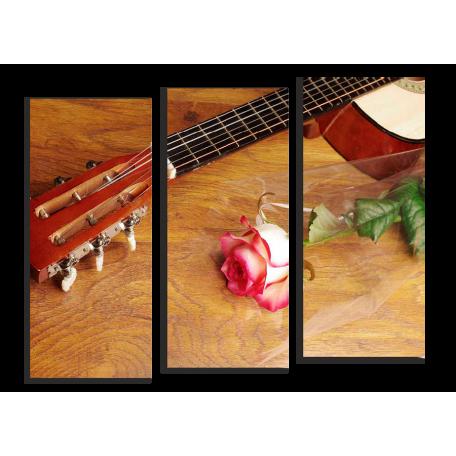 Гитара и роза
